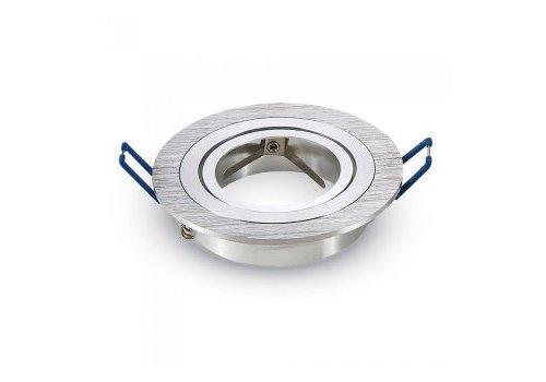 V-TAC Chandler GU10 Armatuur IP20 Kantelbaar geborsteld aluminium