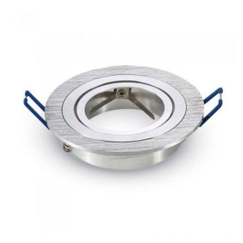 Aigostar Chandler GU10 Armatuur IP20 Kantelbaar geborsteld aluminium