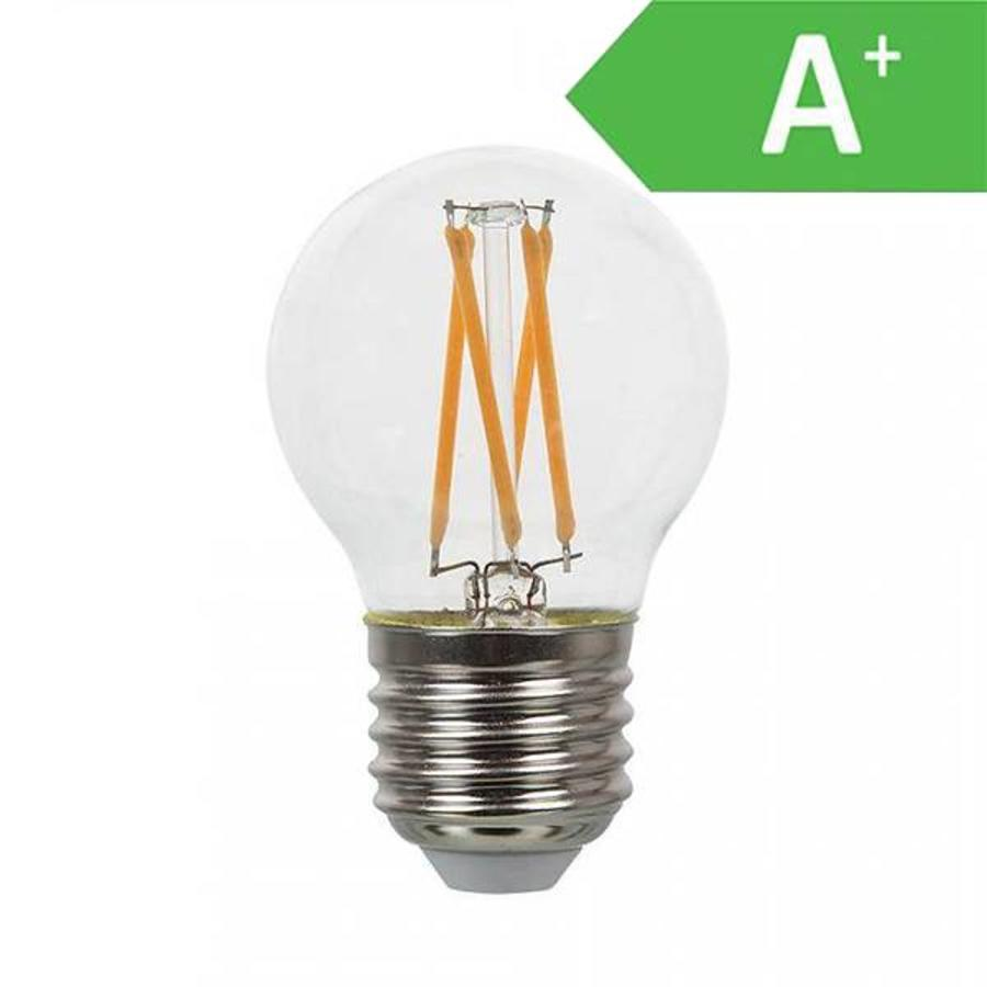 LED Glühbirne G45 mit E27 Fassung 4 Watt 350lm extra Warmweiß 2700K