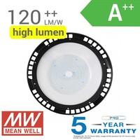 LED High Bay 150 Watt IP65 19.500lm 6400K 120° Dimmable 5 years warranty