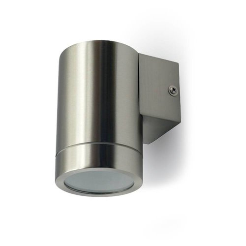 Wall outdoor lamp stainless steel suitable for GU10 spots IP44 moisture-proof 3 Years warranty