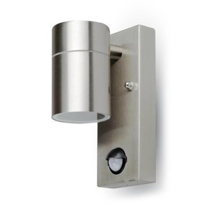 V-TAC Outdoor lamp stainless steel with motion detector and twilight sensor 3 Year warranty