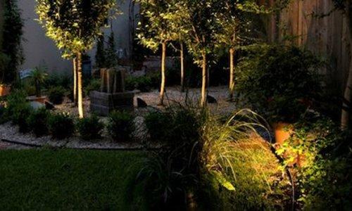 Different types of LED garden lighting
