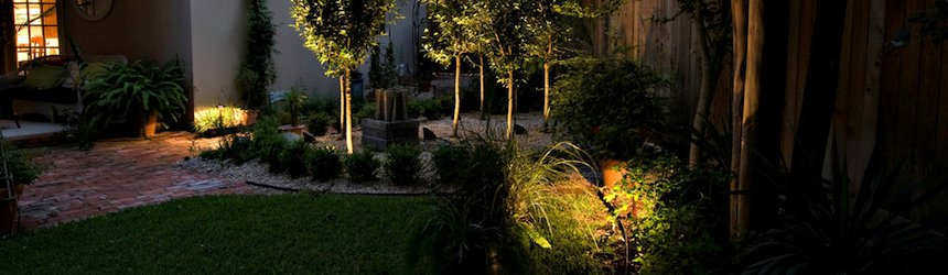 Different types of LED garden lighting