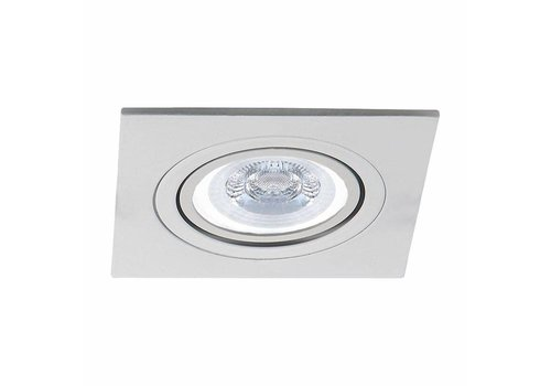 INTOLED LED inbouwspot Tucson 3 Watt 3000K warm wit Kantelbaar