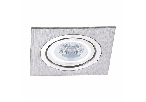 INTOLED LED inbouwspot Diego 3 Watt 3000K warm wit Kantelbaar [optioneel dimbaar]