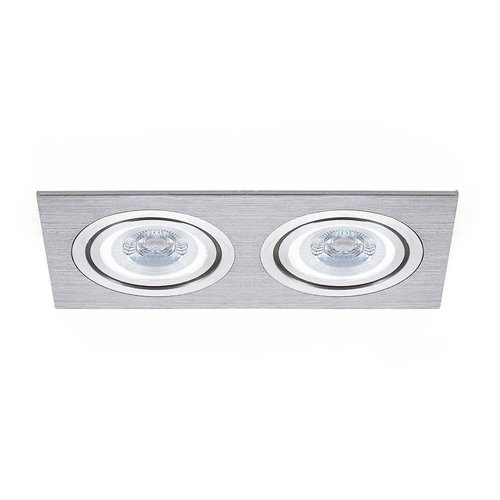 LED inbouwspot Houston 2x GU10 3W 3000K Kantelbaar