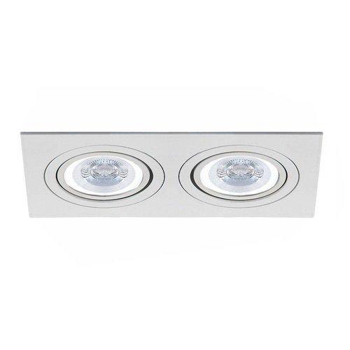 LED Einbaustrahler Kansas Kippbar 2x GU10 3W 3000K