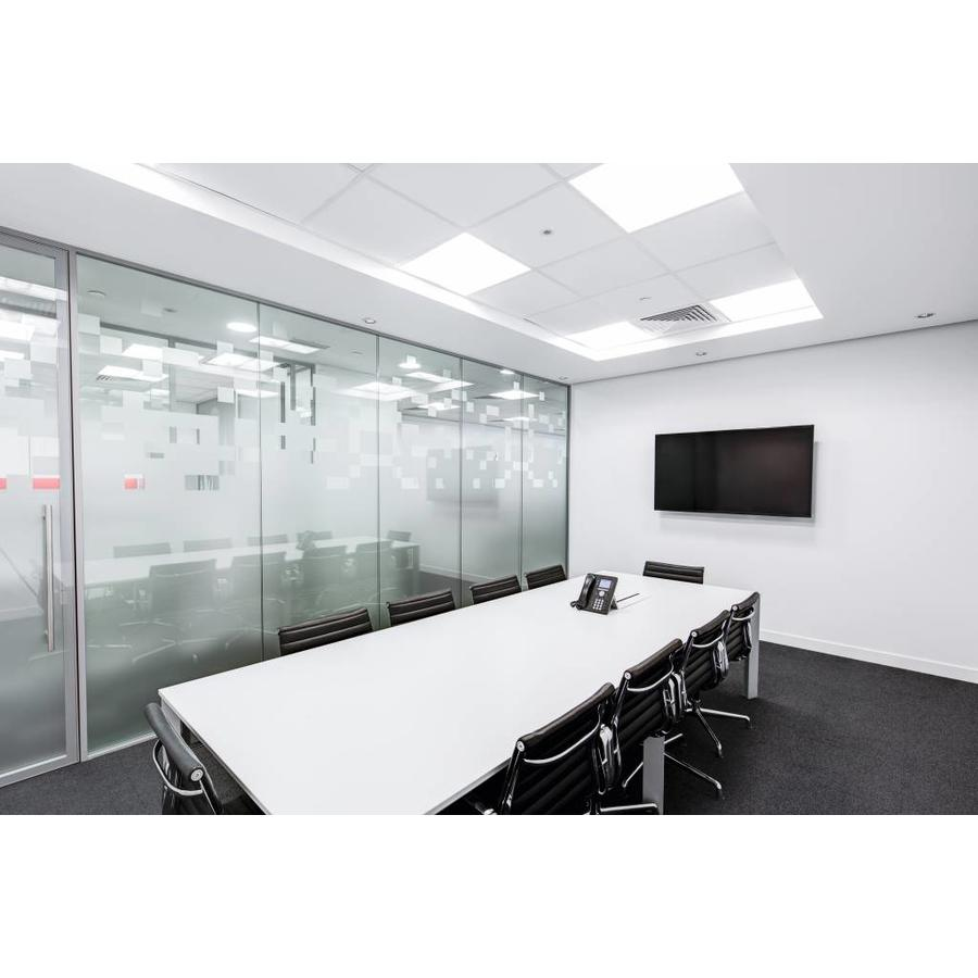 LED panel 30x120 cm 36W 4320lm 6000K incl. driver with 5 year warranty [2 pieces]