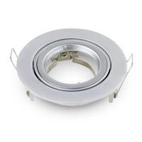 Komplettset 3 Stück Dimmbare LED Einbaustrahler Jose 5 Watt mit Philips Spot Kippbar
