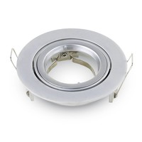 Set of 3 dimmable LED downlights Jose 5 Watt with Philips spot tiltable