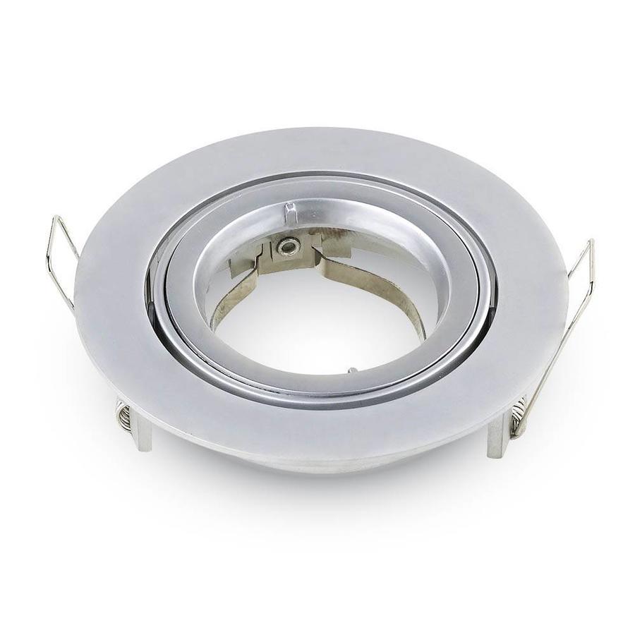 Set van 6 stuks dimbare LED inbouwspots Jose met 5 Watt Philips spot kantelbaar