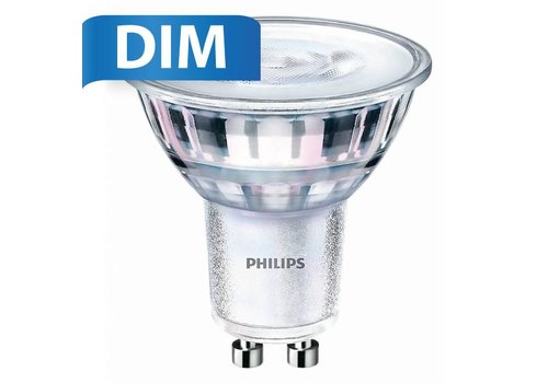 Philips Philips GU10 LED spot 5 Watt Dimbaar 2700K warm wit (vervangt 50W)