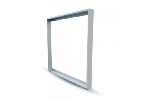 LED Panel Aufbau-Rahmen für LED-Panels 62 x 62 cm Farbe Weiß