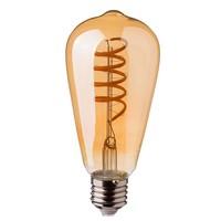 LED filament bulb ST64 with E27 fitting 4 Watt 400lm super warm white 2200K