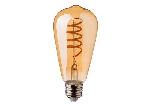 LED Glühbirne ST64 mit E27 Fassung 4 Watt 400lm Super Warmweiß 2200K