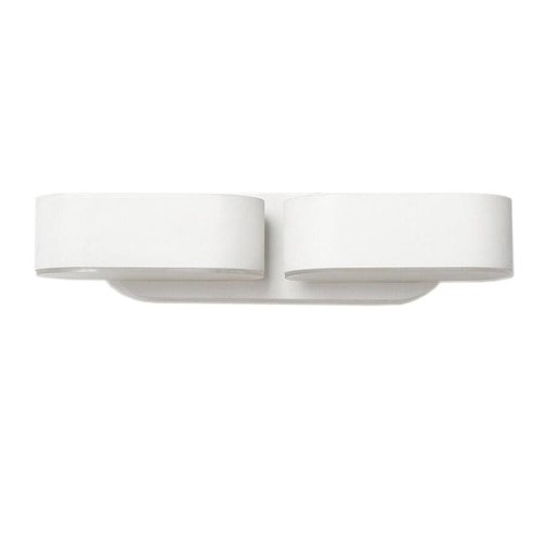 V-TAC LED wandlamp kantelbaar in de kleur wit 12 Watt 3000K IP65 waterdicht