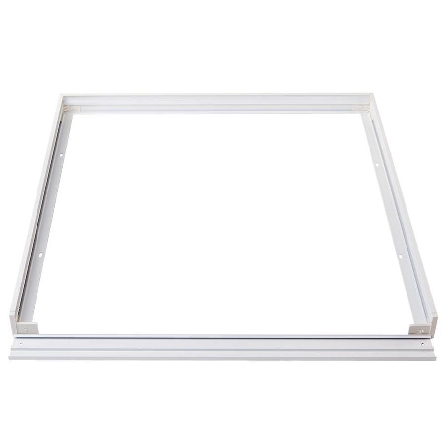 Aufputzrahmen für 62 x 62 cm LED-Panels, Farbe Weiß