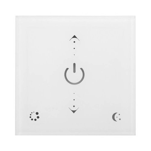 Wireless LED wall dimmer
