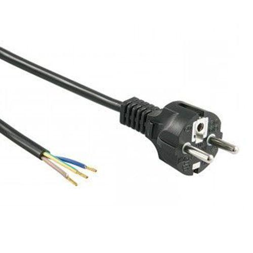 Netsnoer 1,5m 220V 3x0,75 mm² incl. stekker met randaarde