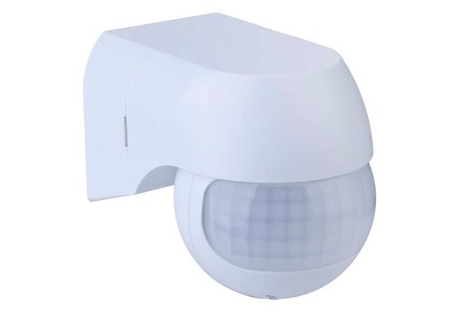 V-TAC PIR motion sensor 180° range 12 meter Maximum 400 Watt surface mounted color white IP44