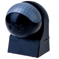 PIR motion sensor 180° range 12 meter Maximum 400 Watt surface color black IP44