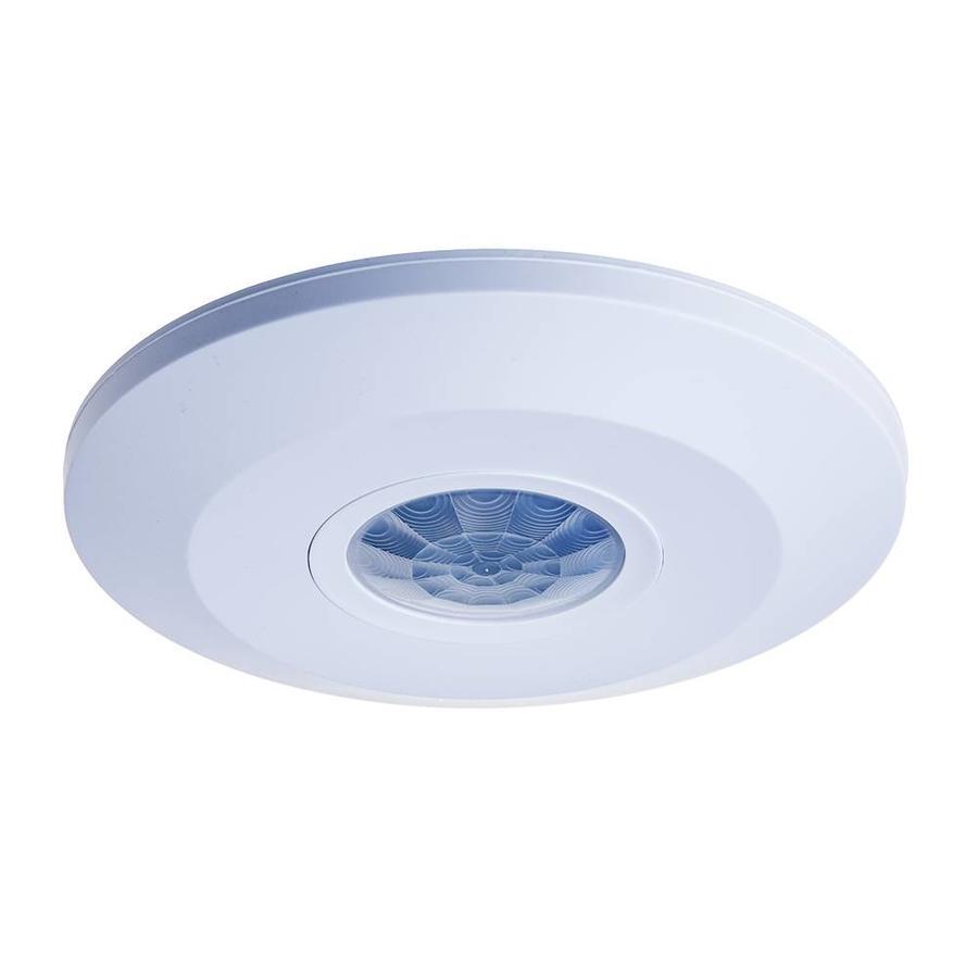 PIR motion sensor 360° range 6m Maximum 1000 Watt IP20 surface mounted color white