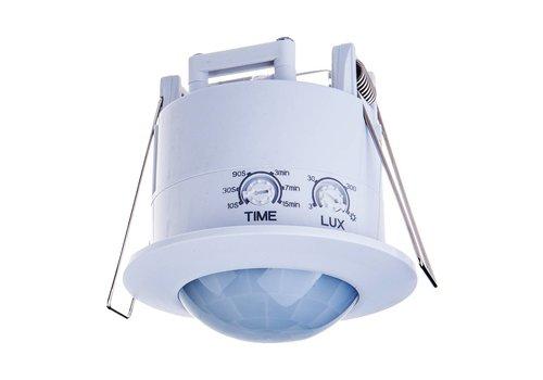 V-TAC PIR Bewegungsmelder 360° Reichweite 6 Meter Maximal 300 Watt IP20 Einbau Farbe weiß
