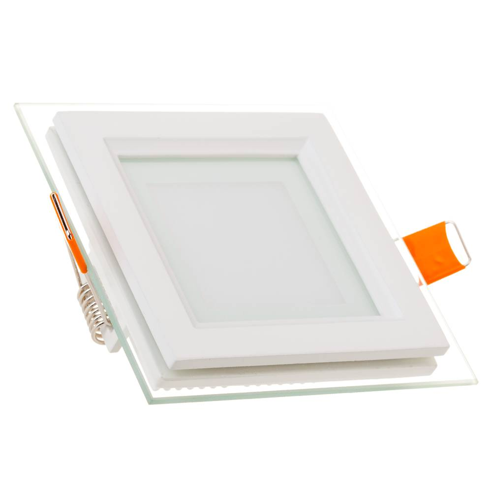 LED Downlight 12 Watt 3000K 840lm Glas