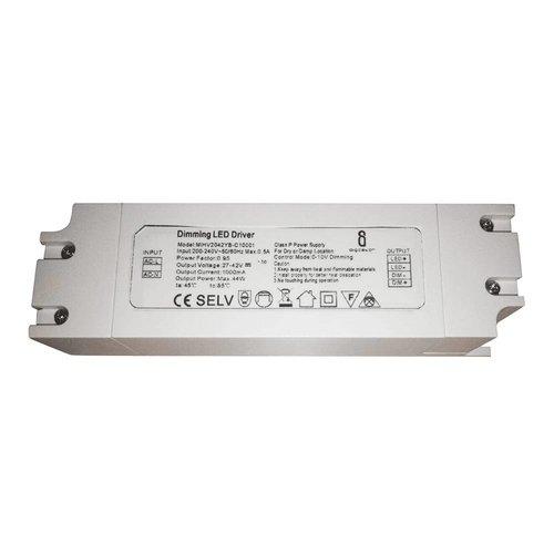 Dimbarer LED Panel Transformator 40 Watt 1-10V