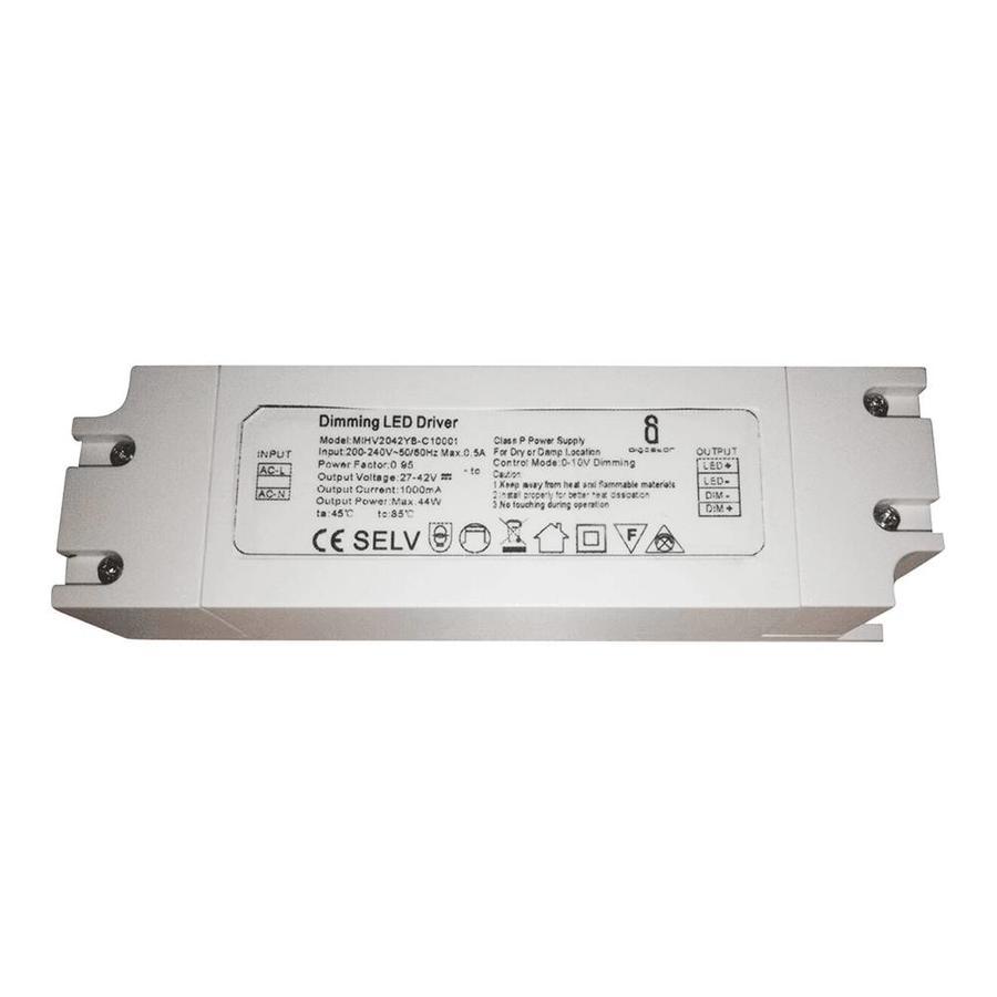 Dimbare LED Paneel transformator 40 Watt 1-10V