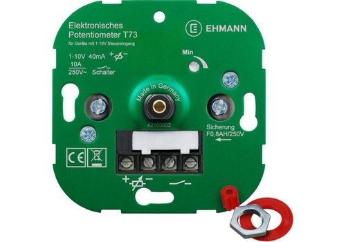 Ehmann  LED dimmer 1-10V Max. 40mA  5 years warranty