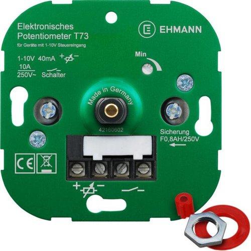 Ehmann  LED dimmer 1-10V Max. 40mA 5 jaar garantie