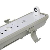 LED TL armatuur 120 cm enkelvoudig IP65 waterdicht excl. LED buis