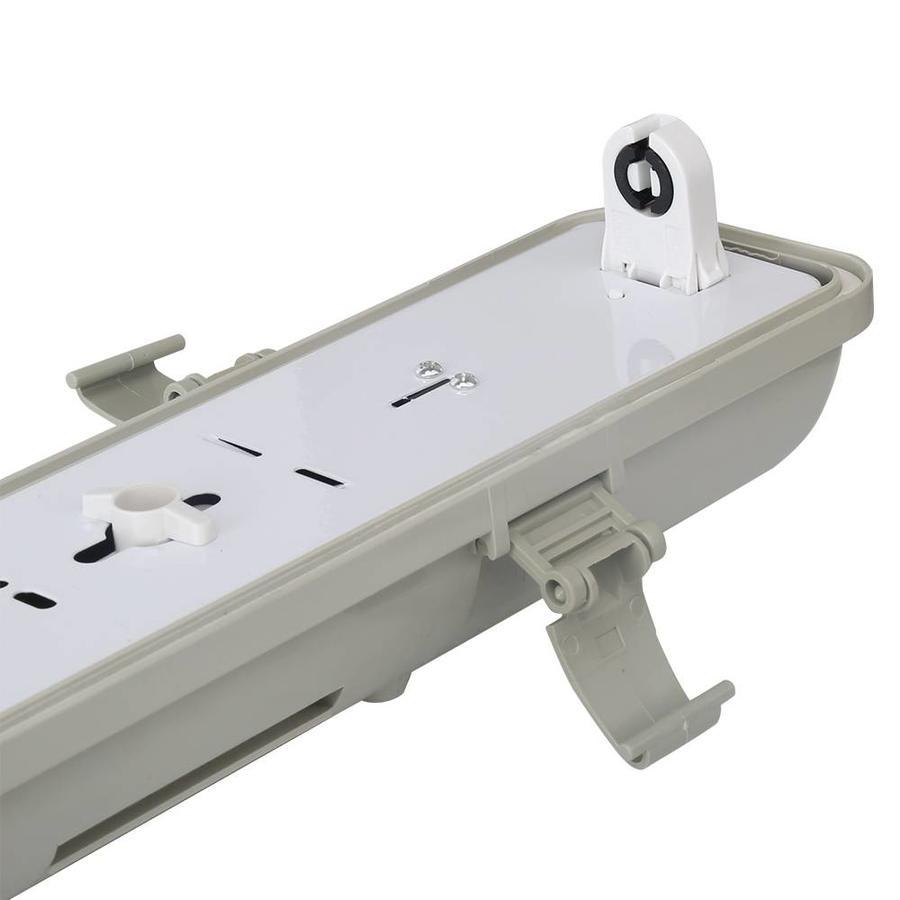 LED fixture waterproof IP65 single version 120 cm
