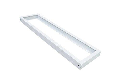 Aigostar Aufputzrahmen für LED-Panel 120x30 cm , Farbe Weiß