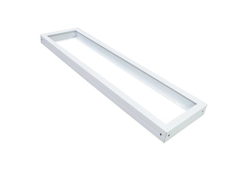 Aufputzrahmen für LED-Panel 120 x 30 cm Farbe weiß