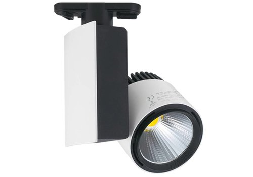 LED-Schienenstrahler 23 Watt 4000K 1250 Lumen 2 Phase