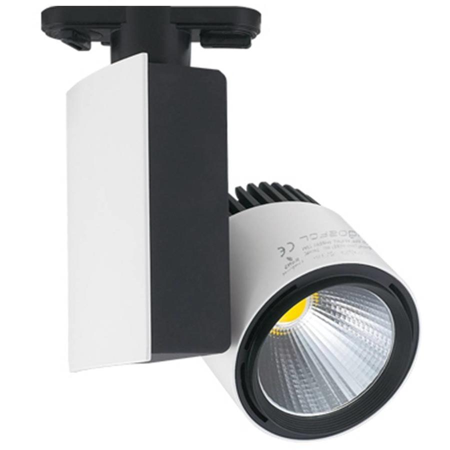 LED Railspot 23 Watt 4000K 1250 lumen 2 Fase
