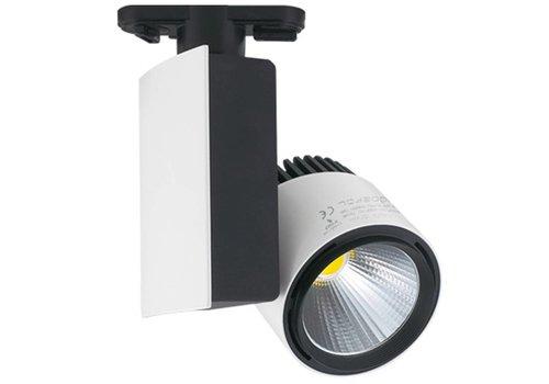 LED-Schienenstrahler 23 Watt 4000K 1250 Lumen 3 Phasen