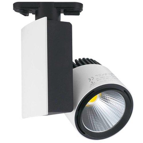 Aigostar LED-Schienenstrahler 23 Watt 4000K 1250 Lumen 3 Phasen