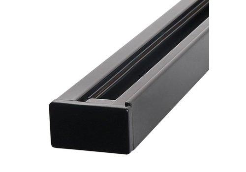 Aigostar Aluminium Track Lichtschiene 1 Meter 2 Phase Schwarz
