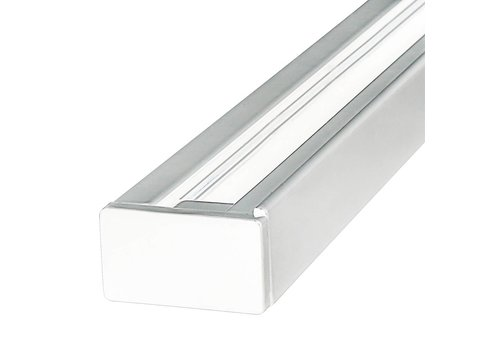 Aigostar Aluminium Track light rail 1 meter 3 Fase wit