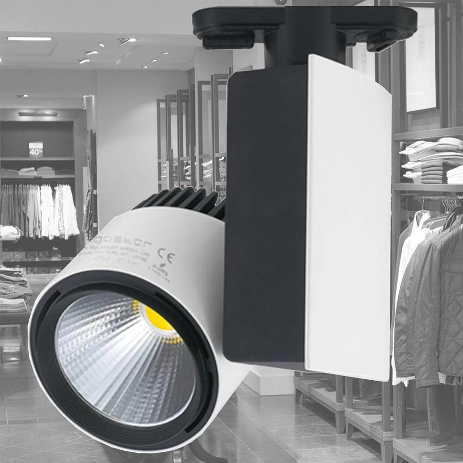 LED-Schienenstrahler 33 Watt 4000K 1950 Lumen 3 Phase
