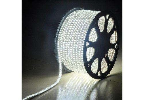 LED Lichtslang plat 50m kleur 6500K 60 LEDs/m IP65 Plug & Play per 1m in te korten