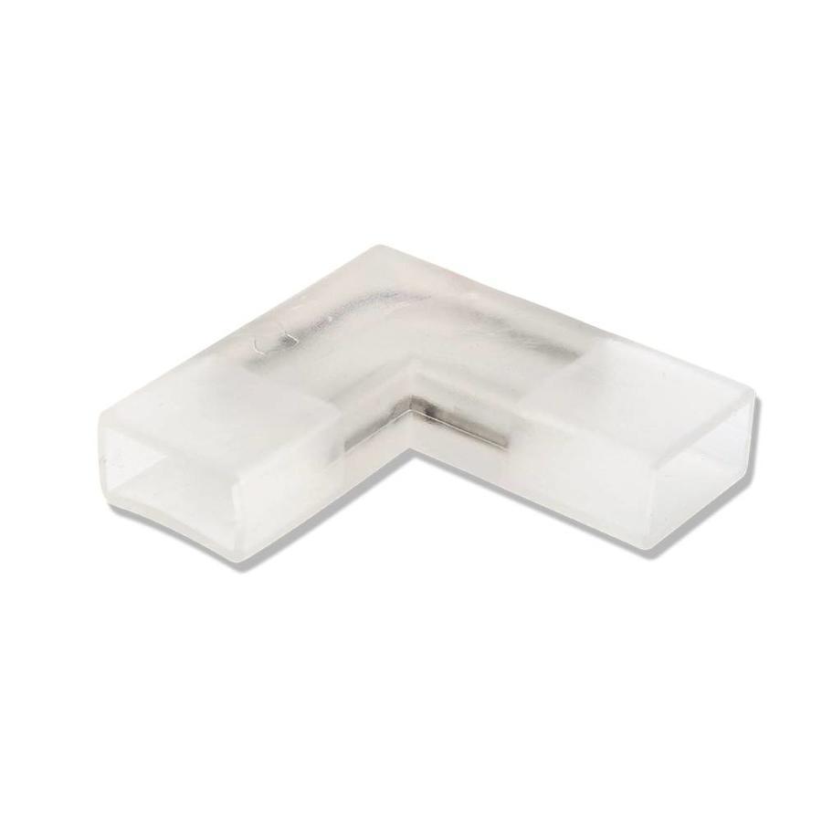 2-pins waterdichte 90° hoekconnector 10 stuks (één kleur) niet geschikt voor RGBW - 5050 / 60 LEDs