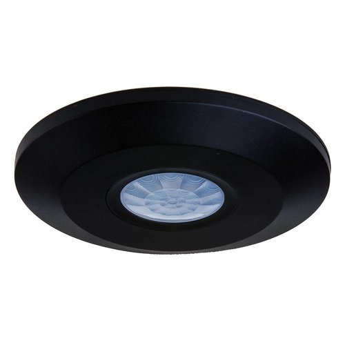 PIR bewegingssensor 360° bereik 6 meter Maximaal 1000 Watt IP20 opbouw kleur zwart