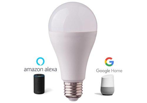E27 LED-Lampe 9 Watt 3000K + RGB ersetzt 60 Watt Dimmbar