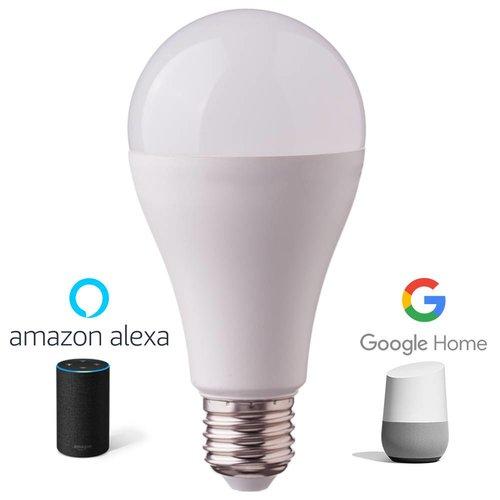 E27 LED Lamp 9 Watt 3000K + RGB Vervangt 60 Watt Dimbaar