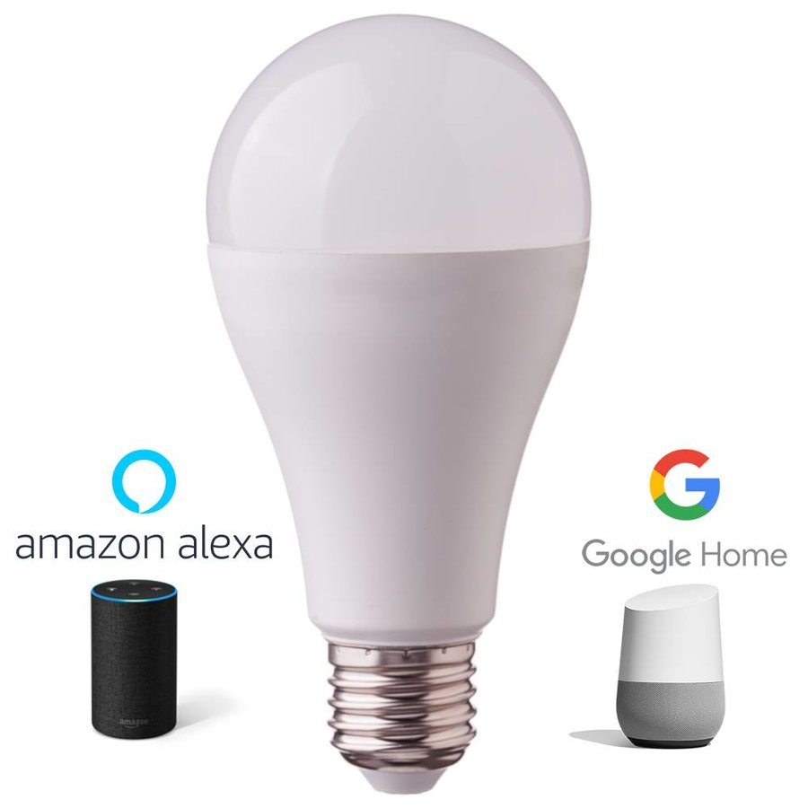 E27 Led Bulb 9 Watt 3000k Rgb A60 Replaces 60 Watt Dimmable Compatible With Amazon Alexa And Google Home